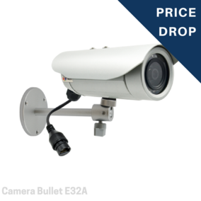 Camera Bullet - 3MP Bullet with D/N, Adaptive IR, Basic WDR, Fixed lens - E32A