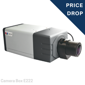 Camera Box - 2MP Video Analytics Box with D/N, Extreme WDR, SLLS, Vari-focal lens - E222